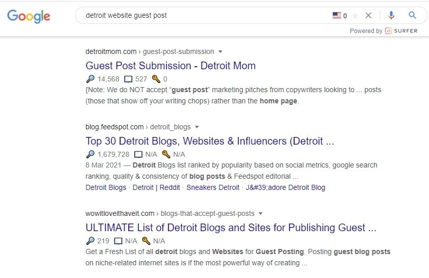 Local SEO Guest Post Section Image
